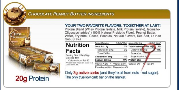 quest protein bar ingredients